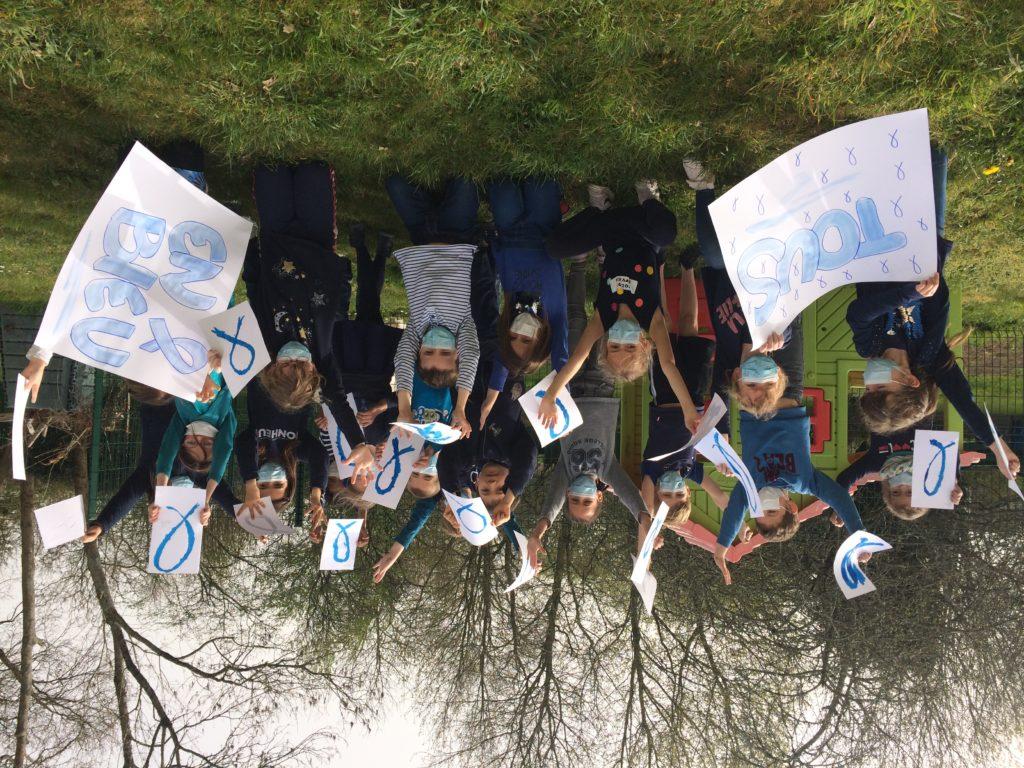 Tous en bleu pour la journée mondiale de sensibilisation à l'autisme